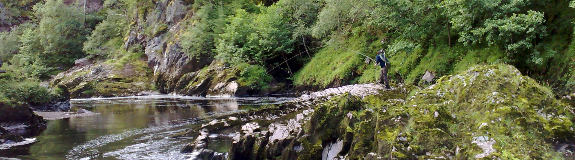 Findhorn fishing